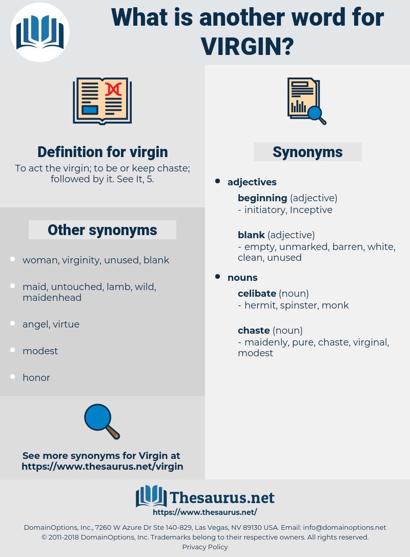 virgin, synonym virgin, another word for virgin, words like virgin, thesaurus virgin
