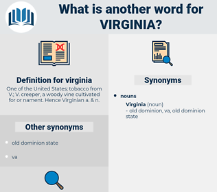 virginia, synonym virginia, another word for virginia, words like virginia, thesaurus virginia