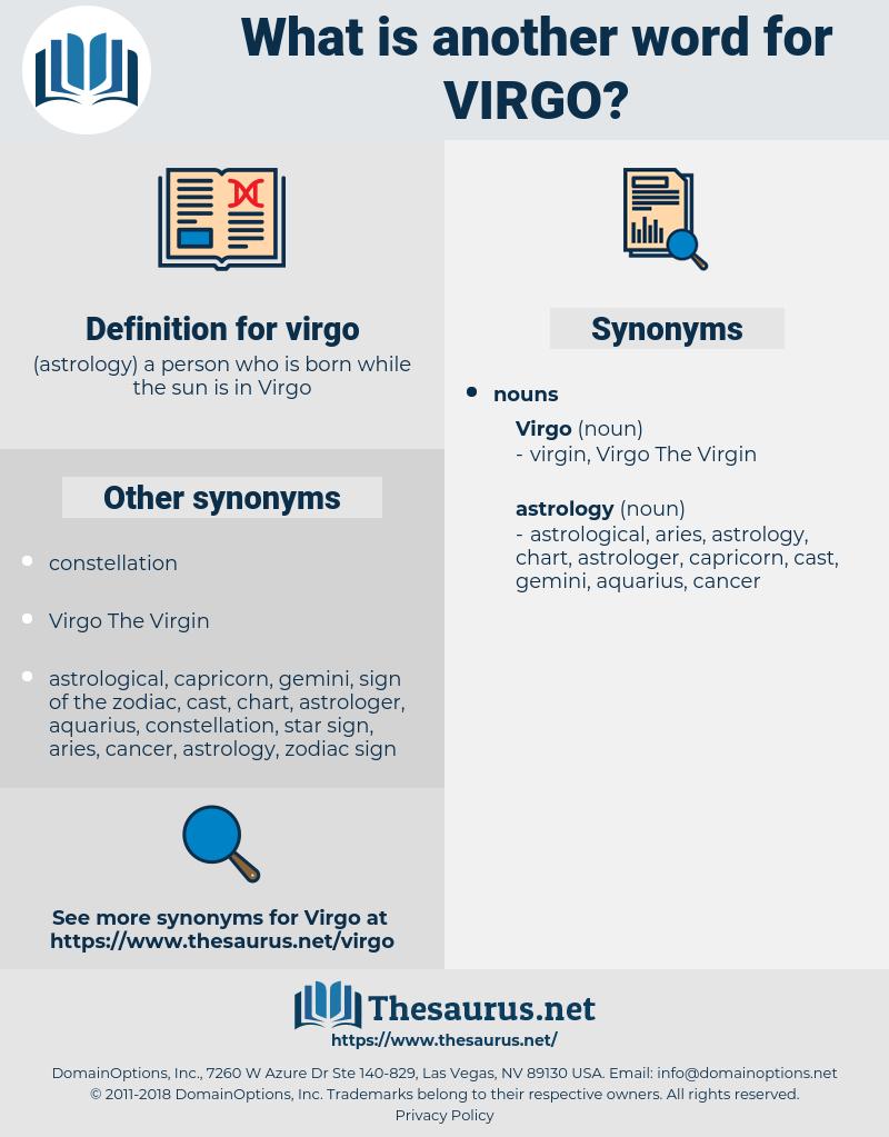virgo, synonym virgo, another word for virgo, words like virgo, thesaurus virgo