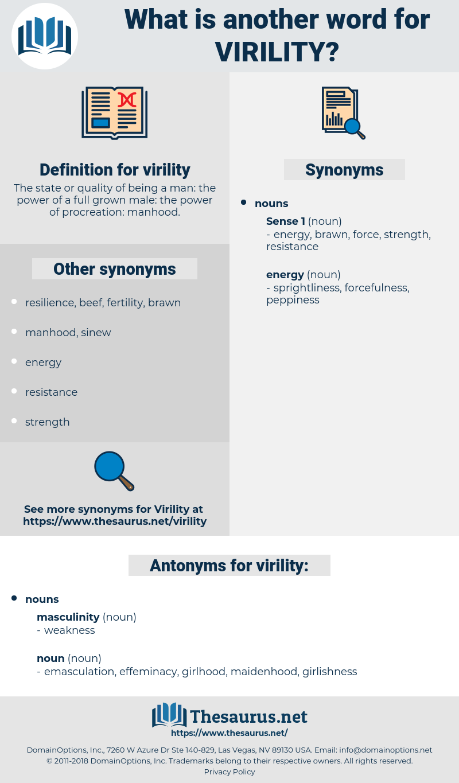 virility, synonym virility, another word for virility, words like virility, thesaurus virility