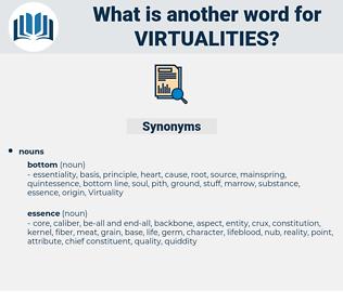 virtualities, synonym virtualities, another word for virtualities, words like virtualities, thesaurus virtualities