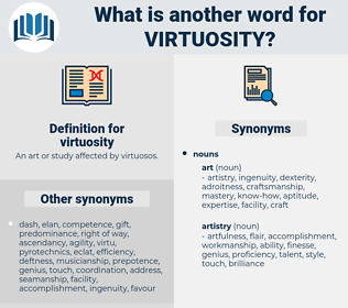virtuosity, synonym virtuosity, another word for virtuosity, words like virtuosity, thesaurus virtuosity