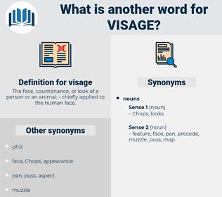visage, synonym visage, another word for visage, words like visage, thesaurus visage
