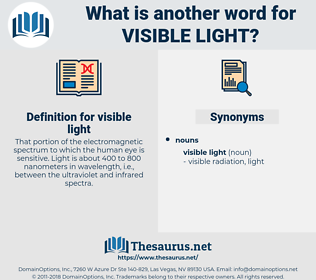visible light, synonym visible light, another word for visible light, words like visible light, thesaurus visible light