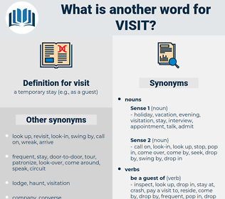 visit, synonym visit, another word for visit, words like visit, thesaurus visit