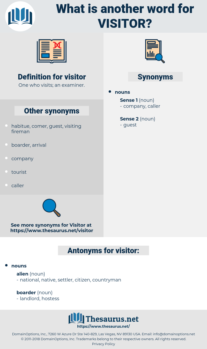 visitor, synonym visitor, another word for visitor, words like visitor, thesaurus visitor