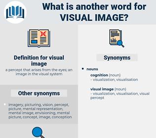 visual image, synonym visual image, another word for visual image, words like visual image, thesaurus visual image