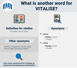 vitalise, synonym vitalise, another word for vitalise, words like vitalise, thesaurus vitalise
