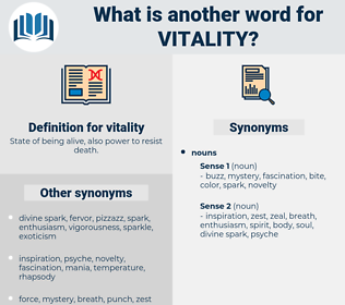 vitality, synonym vitality, another word for vitality, words like vitality, thesaurus vitality