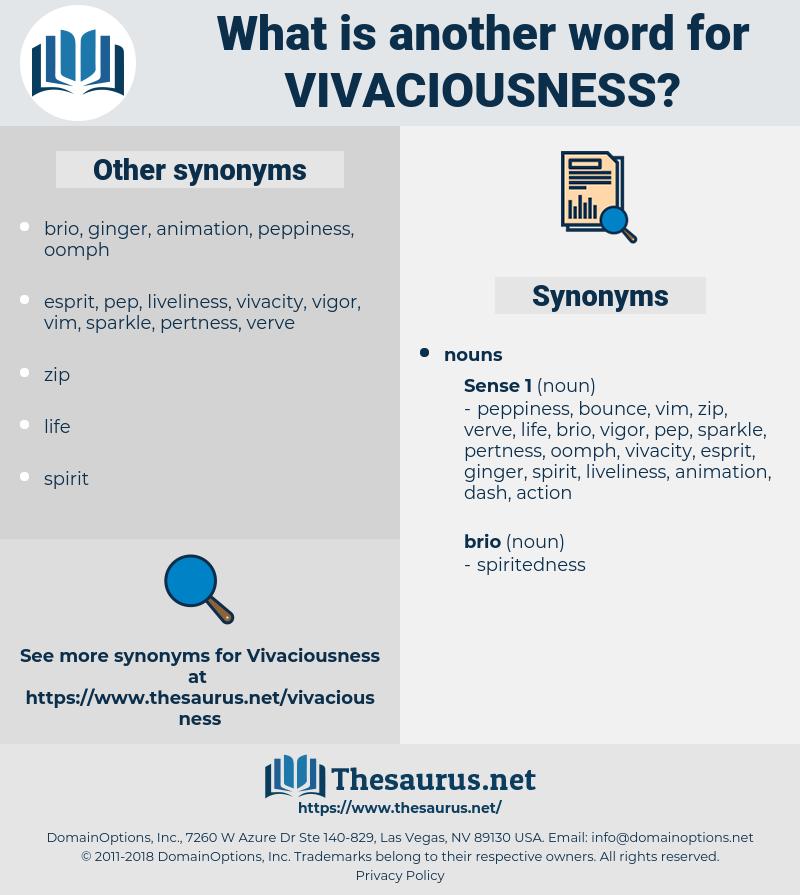 vivaciousness, synonym vivaciousness, another word for vivaciousness, words like vivaciousness, thesaurus vivaciousness