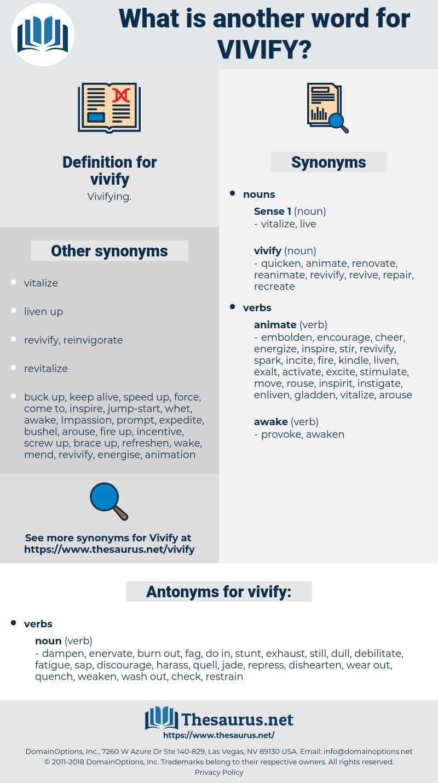vivify, synonym vivify, another word for vivify, words like vivify, thesaurus vivify