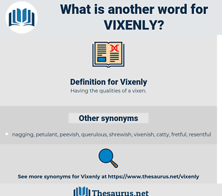 Vixenly, synonym Vixenly, another word for Vixenly, words like Vixenly, thesaurus Vixenly