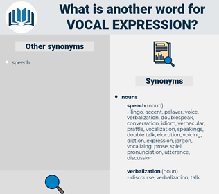 vocal expression, synonym vocal expression, another word for vocal expression, words like vocal expression, thesaurus vocal expression