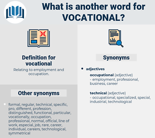 vocational, synonym vocational, another word for vocational, words like vocational, thesaurus vocational