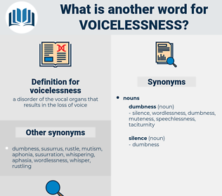 voicelessness, synonym voicelessness, another word for voicelessness, words like voicelessness, thesaurus voicelessness