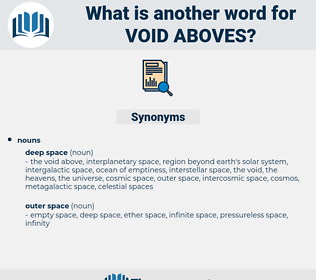 void aboves, synonym void aboves, another word for void aboves, words like void aboves, thesaurus void aboves