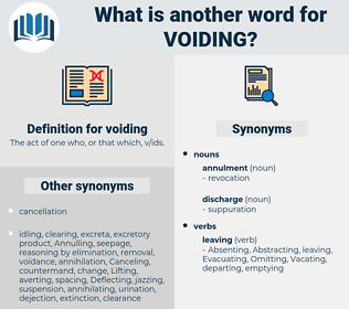voiding, synonym voiding, another word for voiding, words like voiding, thesaurus voiding