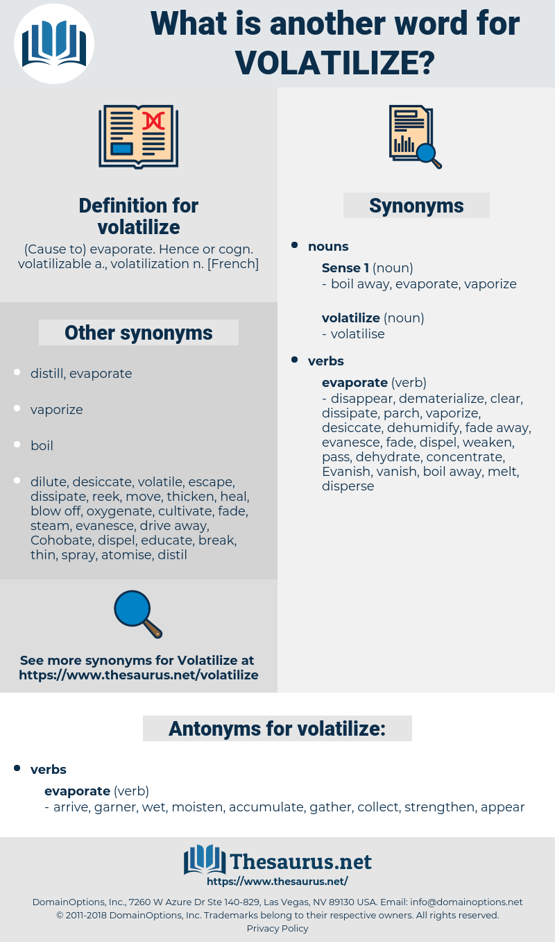 volatilize, synonym volatilize, another word for volatilize, words like volatilize, thesaurus volatilize