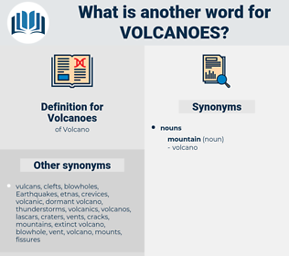 Volcanoes, synonym Volcanoes, another word for Volcanoes, words like Volcanoes, thesaurus Volcanoes