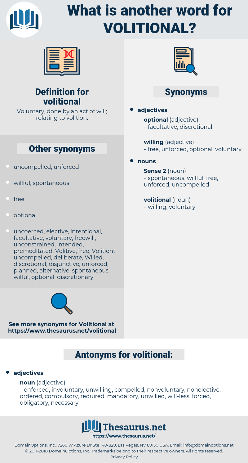 volitional, synonym volitional, another word for volitional, words like volitional, thesaurus volitional