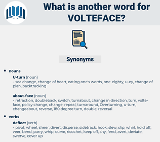 volteface, synonym volteface, another word for volteface, words like volteface, thesaurus volteface