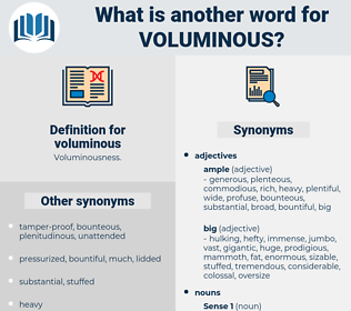 voluminous, synonym voluminous, another word for voluminous, words like voluminous, thesaurus voluminous