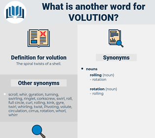 volution, synonym volution, another word for volution, words like volution, thesaurus volution