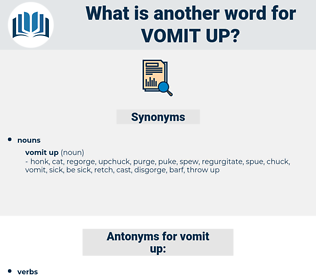 vomit up, synonym vomit up, another word for vomit up, words like vomit up, thesaurus vomit up