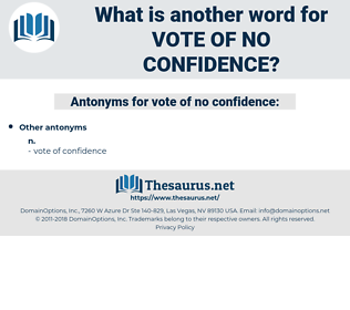 vote of no confidence, synonym vote of no confidence, another word for vote of no confidence, words like vote of no confidence, thesaurus vote of no confidence