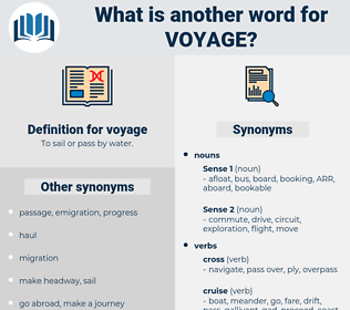 voyage, synonym voyage, another word for voyage, words like voyage, thesaurus voyage