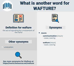 wafture, synonym wafture, another word for wafture, words like wafture, thesaurus wafture