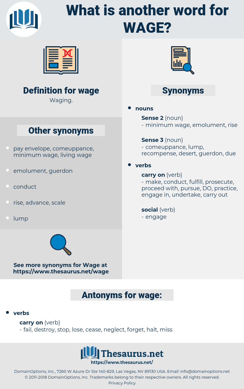 wage, synonym wage, another word for wage, words like wage, thesaurus wage