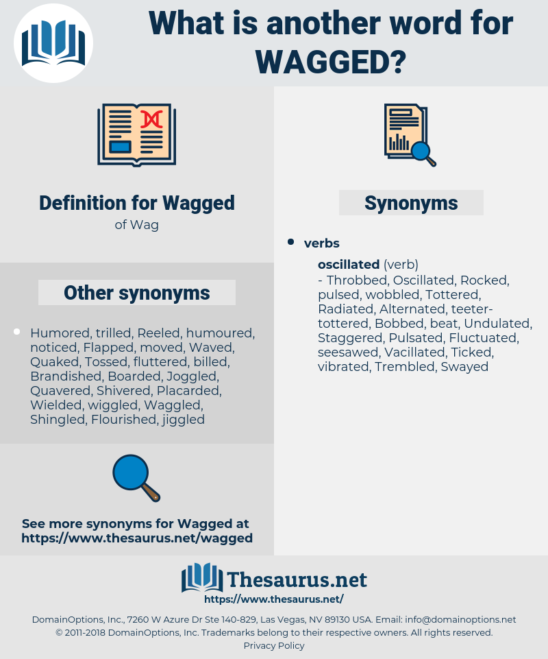 Wagged, synonym Wagged, another word for Wagged, words like Wagged, thesaurus Wagged