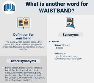 waistband, synonym waistband, another word for waistband, words like waistband, thesaurus waistband
