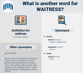 waitress, synonym waitress, another word for waitress, words like waitress, thesaurus waitress