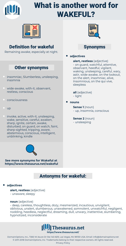 wakeful, synonym wakeful, another word for wakeful, words like wakeful, thesaurus wakeful