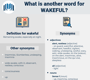 wakeful, synonym wakeful, another word for wakeful, words like wakeful, thesaurus wakeful