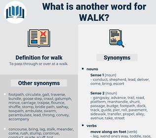 walk, synonym walk, another word for walk, words like walk, thesaurus walk