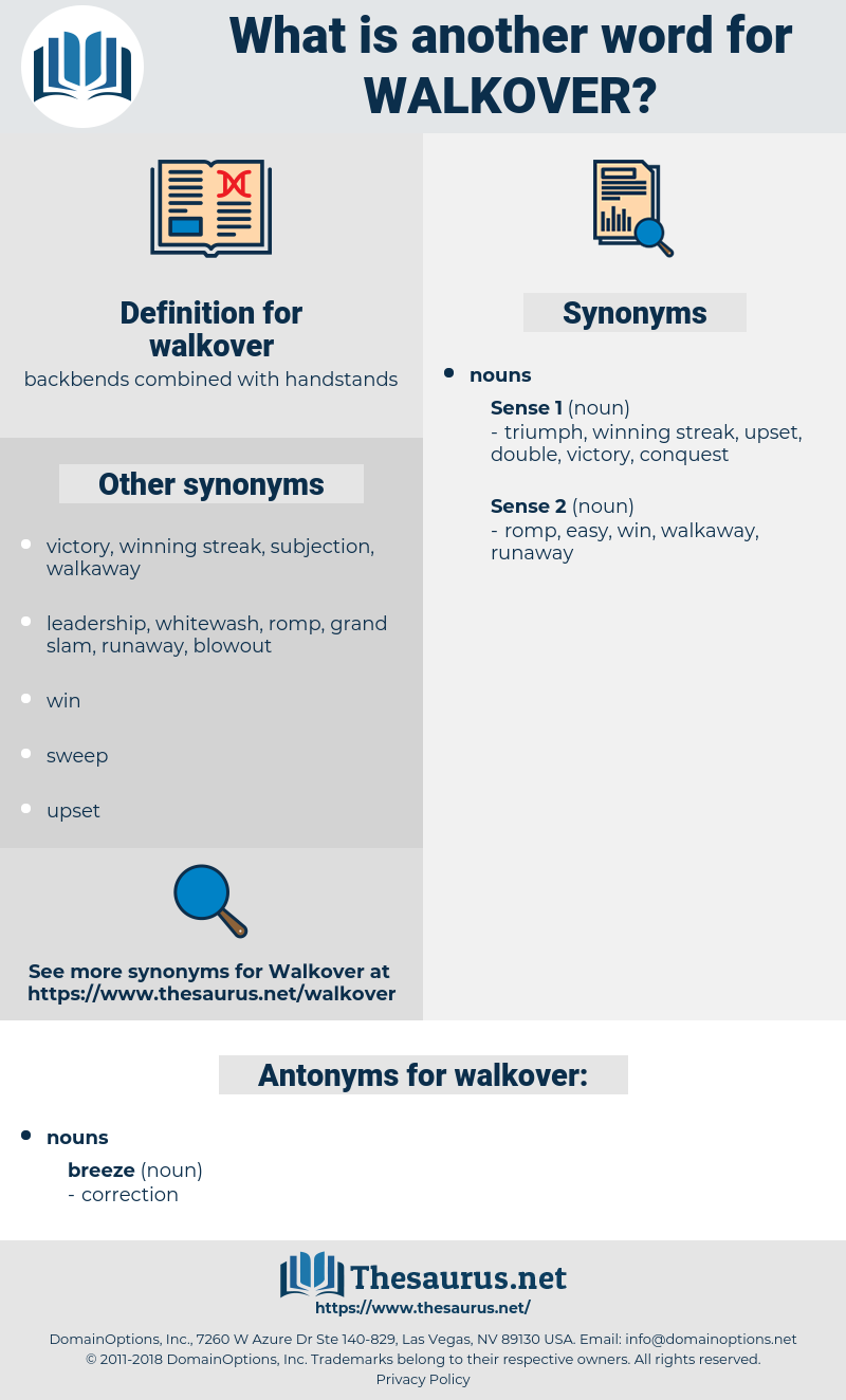 walkover, synonym walkover, another word for walkover, words like walkover, thesaurus walkover