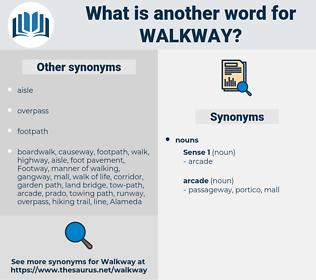 walkway, synonym walkway, another word for walkway, words like walkway, thesaurus walkway