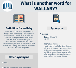 wallaby, synonym wallaby, another word for wallaby, words like wallaby, thesaurus wallaby