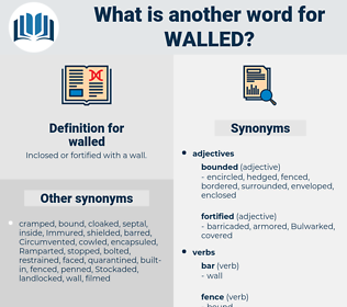 walled, synonym walled, another word for walled, words like walled, thesaurus walled