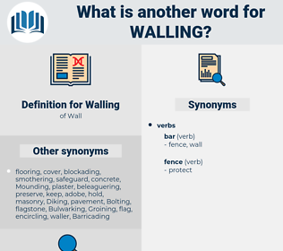 Walling, synonym Walling, another word for Walling, words like Walling, thesaurus Walling