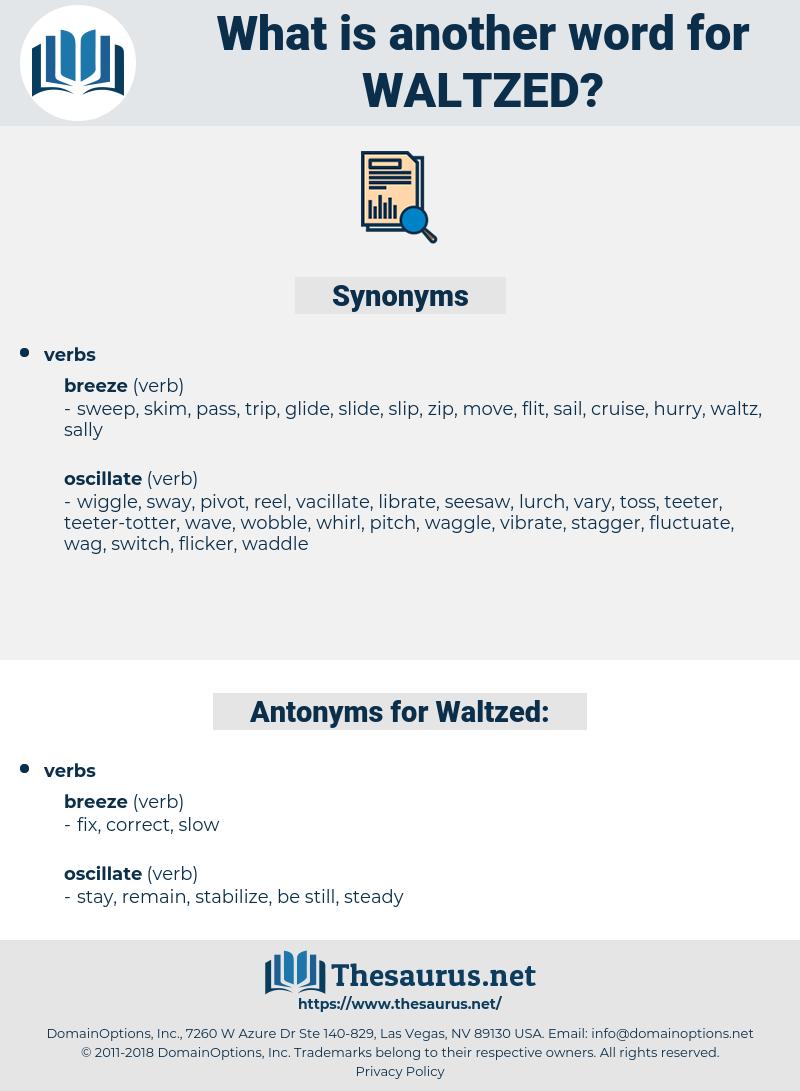 Waltzed, synonym Waltzed, another word for Waltzed, words like Waltzed, thesaurus Waltzed
