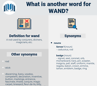 wand, synonym wand, another word for wand, words like wand, thesaurus wand