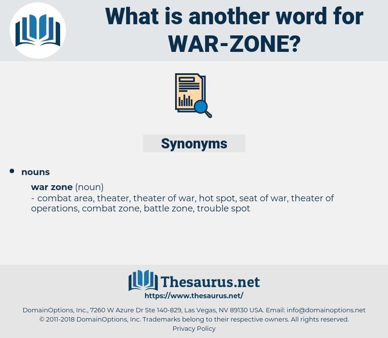 Synonyms For War Zone Thesaurusnet