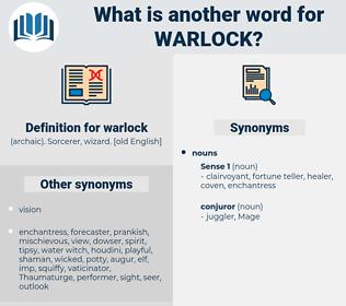 warlock, synonym warlock, another word for warlock, words like warlock, thesaurus warlock