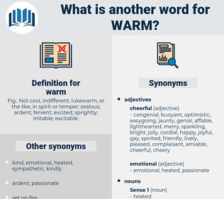 warm, synonym warm, another word for warm, words like warm, thesaurus warm