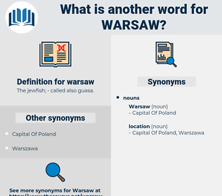 warsaw, synonym warsaw, another word for warsaw, words like warsaw, thesaurus warsaw