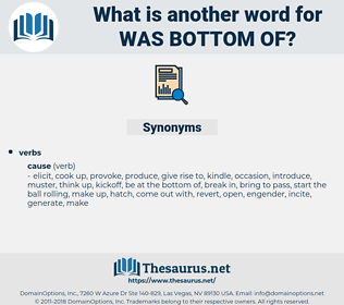 was bottom of, synonym was bottom of, another word for was bottom of, words like was bottom of, thesaurus was bottom of